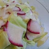 レディース大根とキャベツのサラダ