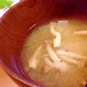 簡単!節約^ ^大根としめじのお味噌汁