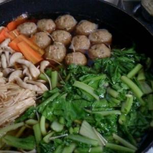 野菜たっぷりちゃんこ鍋