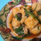 鶏団子のしめじソース煮