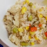 簡単・時短!塩昆布とツナの炊き込みご飯♪
