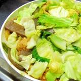 超簡単でヘルシー♪スタミナ満点!キャベ肉蒟蒻豆腐