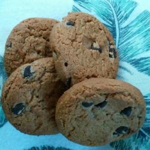 ピーナッツチョコチップクッキー