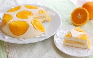 オレンジのババロア【No.195】