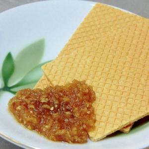 大麦生活で、大麦クラッカーの蜂蜜生姜添え