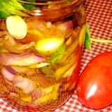 茄子のオリーブオイル漬け