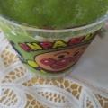 朝食に飲みやすい♪りんごと小松菜のスムージー