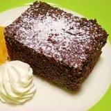 おからが消えた!チョコレートケーキ