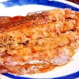 フライパンで簡単、秋刀魚の蒲焼
