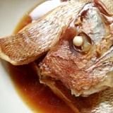基本の鯛の煮つけ