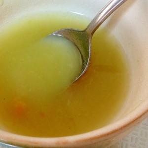 離乳食  中期 さつまいもと人参のスープ