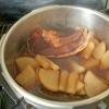 我が家の「いかと大根の煮物」