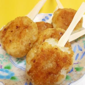 子供が大好き(^^)冷やご飯で甘辛揚げ焼き餅♪