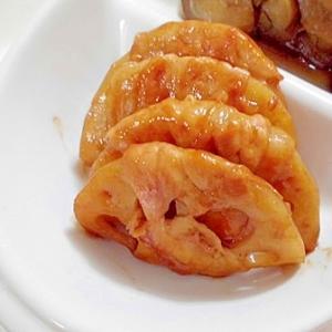 れんこんの肉巻き ☆ 甘味噌で