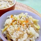 市販の茹で筍を使ったお手軽たけのこご飯