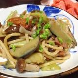 おかずで食べる千石豆のスパゲッティー