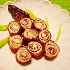豚肉☆梅紫蘇チーズフライ