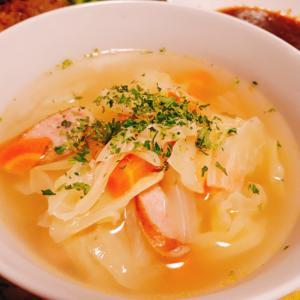 定番の野菜コンソメスープ