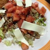 タコライス風丼