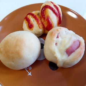 簡単!30分でお惣菜パン(ウインナー・ハムチーズ)