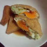 卵とキャベツの巾着煮