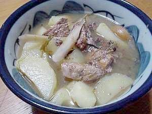 炊飯器で作る 減塩マグロスープ