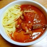牛肉のトマト煮込み (圧力鍋 エコレシピ)