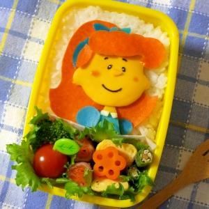 キャラ弁☆スヌーピー 赤毛の女の子のお弁当♪