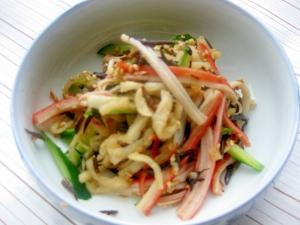 簡単美味しい☆ひじきと切り干し大根の胡麻風味サラダ