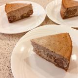 カシューナッツクリーム入り 栗の渋皮煮チーズケーキ