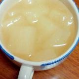 冬瓜のシンプル中華スープ
