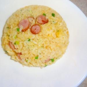 ウインナーと卵のパラパラ炒飯