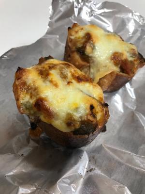余ったラタトゥイユでチーズトースト