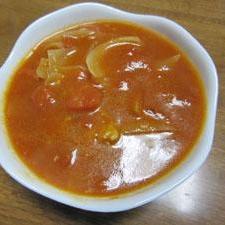 美肌&栄養満点!トマト缶でチキンと野菜の煮込み♪