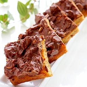 チョコナッツのソフトケーキ♪
