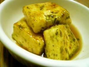 フライパン一つで簡単☆磯辺揚げだし豆腐