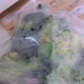 ブロッコリーを冷凍保存♡