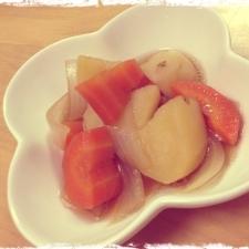 野菜の甘辛煮