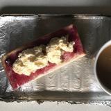 ブルーベリーバナナクリームパン