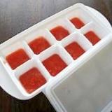 【離乳食 初期】トマトの冷凍保存