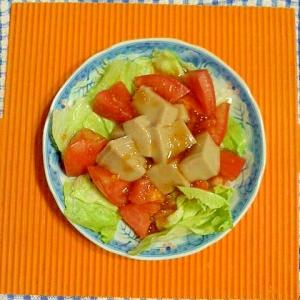 ゴマ豆腐のサラダ♪