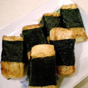 豆腐の磯辺焼き