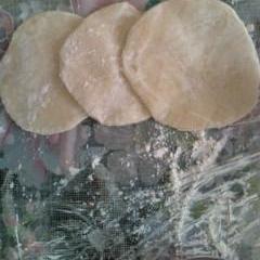 手作り餃子の皮