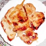 チキンの生姜焼き