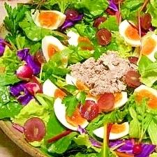 減塩☆バルサミコチーズのサラダ