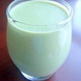 ミネラル補給の胡麻青梗菜ジュース