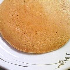 卵不使用のバナナホットケーキ