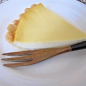 クリーミーでしつこくないチーズタルト