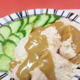 ポリ袋調理!子供が大好き(^^)鶏むね肉の棒々鶏♪