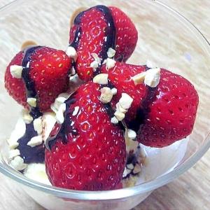 春のデザート♡苺のミニパフェ
